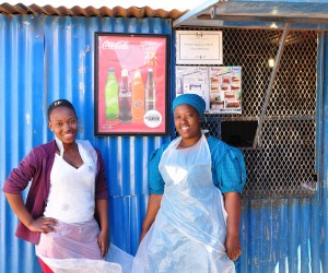 Ngoetsana Sehlabo - Mampho's Fast Food (with Daughter) 2.jpg
